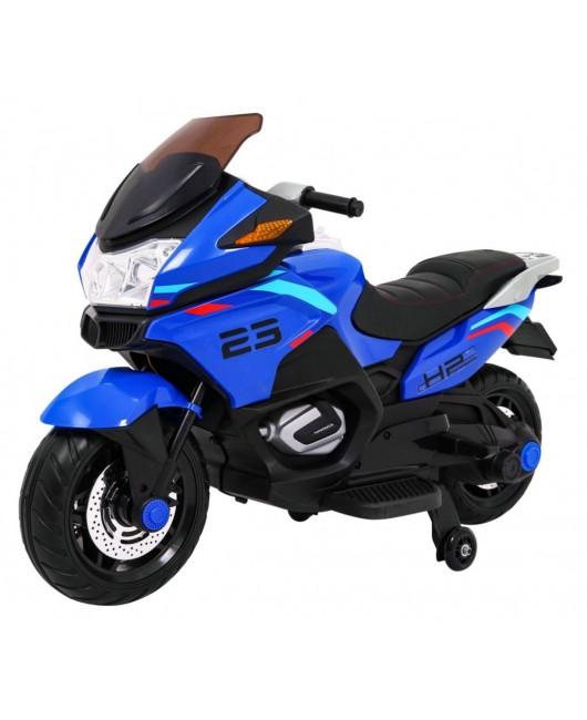 Elektrická motorka Sport Tourism modrá